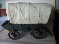 Covered Horse-Drawn Wagon